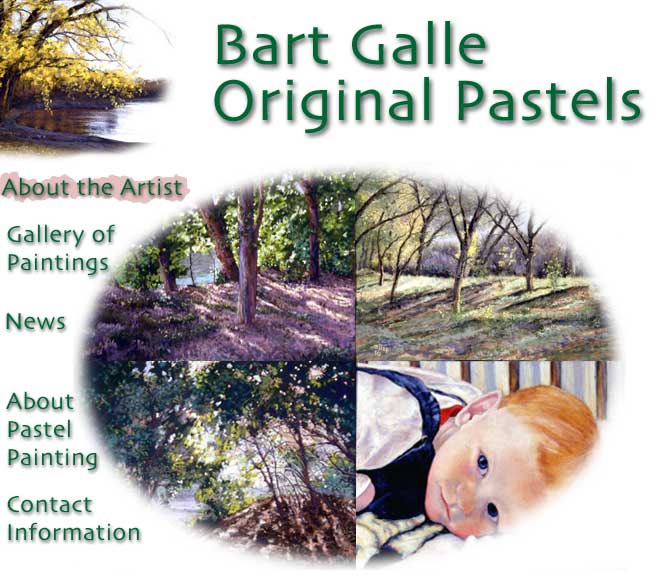 Bart Galle Original Pastels