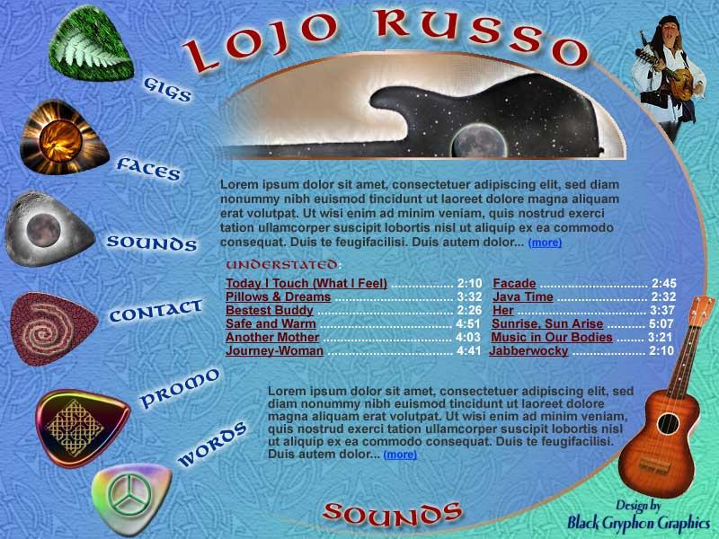 Lojo Russo, Musician